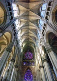 Interior view of a cathedral Royalty Free Stock Images