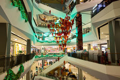 Interior view of Central Festival Hatyai Royalty Free Stock Images