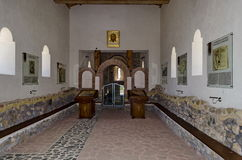 Interior view of church Ascension Royalty Free Stock Photo