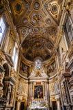 Interior view of the the church of Santa Maria dell Anima Royalty Free Stock Photography
