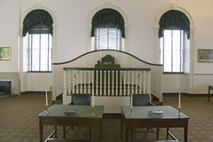 Interior view of Congress Hall, Stock Image