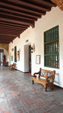 Interior view of the Convent of La Popa in the city of Cartagena Stock Photos