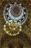 Interior view of the dome of the Peter and Paul Cathedral Stock Photos
