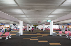 Interior view of Don Mueang International Airport Stock Images