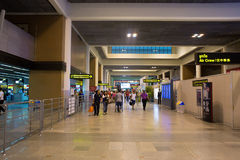 Interior view of Don Mueang International Airport Stock Photography