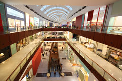 Interior View of Dubai Mall Stock Photos