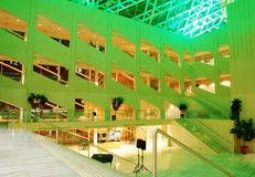 Interior view of Edmonton City Hall Stock Image