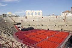 Roman Arena of Verona royalty free stock photo
