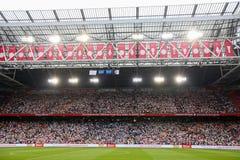 Interior view of the full Amsterdam Arena Stadium Stock Photo