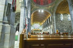 Interior view from Galway cathedral. Ireland Stock Photo