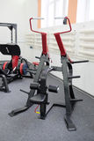 Interior view of a gym with equipment Royalty Free Stock Image
