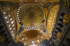 Interior view of the Hagia Sophia Royalty Free Stock Photos