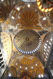 Interior view of Hagia Sophia Stock Photos