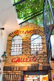 Interior view of the Hundertwasser Village Gallery Royalty Free Stock Images