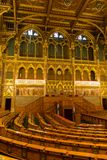 Assembly Hall of Hungarian Parliament Building  royalty free stock photography