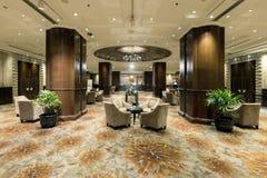 Interior view of InterContinental Bangkok 's lobby. Stock Photography
