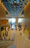 Interior View of the Kaohsiung Exhibition Center Royalty Free Stock Images