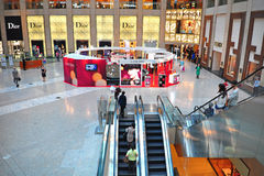 Interior view of the landmark, hong kong Royalty Free Stock Photo