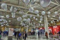 Interior View of Mega Mall Royalty Free Stock Photos