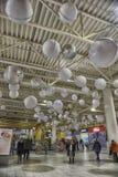 Interior View of Mega Mall Royalty Free Stock Photography