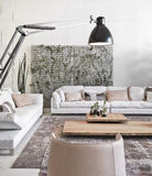Interior view of modern living room Royalty Free Stock Photography