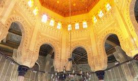 Interior view of Mosque Stock Photos