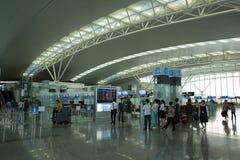 Interior view of Noi Bai International Airport Royalty Free Stock Image