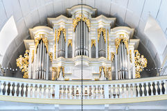 Interior View Of Bach Church In Arnstadt, Thuringia, Germany Stock Images