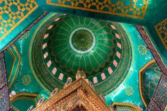 Free Interior View Of The Dome Ceiling Of Bibi-Heybat Mosque In Baku, Azerbaijan Stock Photography - 155171532