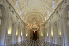 Interior View Of Venaria Royal Palace Stock Photos