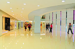 Shopping mall interior hong kong Royalty Free Stock Photo