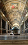 Interior view of the palace in fontainebleau Royalty Free Stock Photos