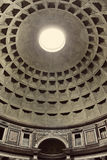 Interior view of the Pantheon in Rome, Italy. Stock Photography