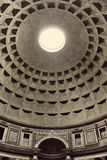 Interior view of the Pantheon in Rome, Italy. Royalty Free Stock Photography