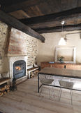 Interior view of a rustic living room Stock Photo