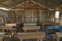 An interior view of schoolroom and UNICEF desk at Pepo La Tumaini Jangwani, HIV/AIDS Community Rehabilitation Program, Orphanage &. Clinic.  Pepo La Tumaini Royalty Free Stock Image