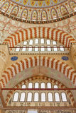Interior view of Selimiye Mosque Royalty Free Stock Photography