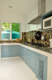 Interior, view of small kitchen Royalty Free Stock Image