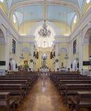 Interior view of St. Joseph's Seminary and Church Royalty Free Stock Image