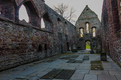 Beauly Priory Ruins Interior Royalty Free Stock Photo