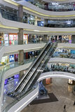 Interior view of Times Square shopping center and office tower Royalty Free Stock Images
