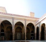 Interior view to Al Fateh Mosque, Manama, Bahrain Stock Image