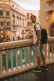 Interior View of Venetian Macao Resort Hotel Royalty Free Stock Photography