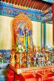 Interior view of Yonghegong Lama Temple. Beijing. Stock Image
