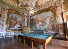 Interior of Villa Pisani at Stra, Italy Stock Images