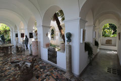 Interior of the Villa San Michele Royalty Free Stock Photo