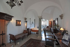 Interior of the Villa San Michele Stock Image