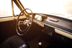 Interior of vintage car - vehicle classic Royalty Free Stock Image