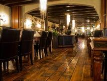 Interior of a vintage restaurant Stock Image