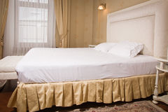 Interior of a vintage style bedroom Royalty Free Stock Photo